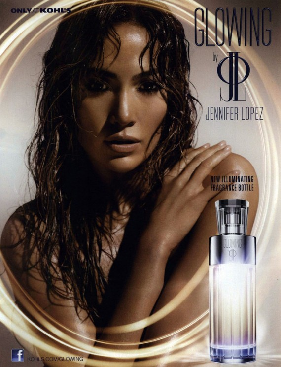 Glowing van Jennifer Lopez